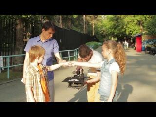 В Новосибирске снимают 3D-сказку